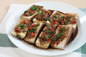 【茄子食譜】3步零失敗15分鐘家常菜食譜  蒜蓉蒸茄子