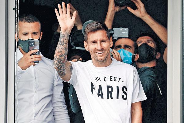 昨赴巴黎體檢 PSG宣布美斯來投