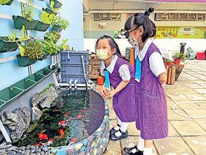 小學建設綠色生態園 認識環保 培養品德