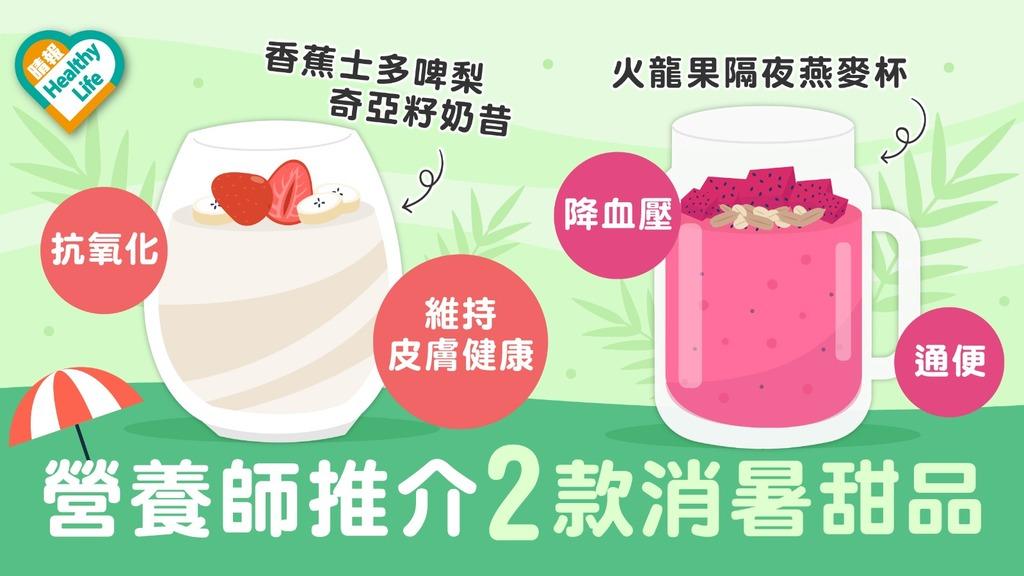 Health Plus │ 水果變身冰凍甜品 消暑抗氧化降血壓