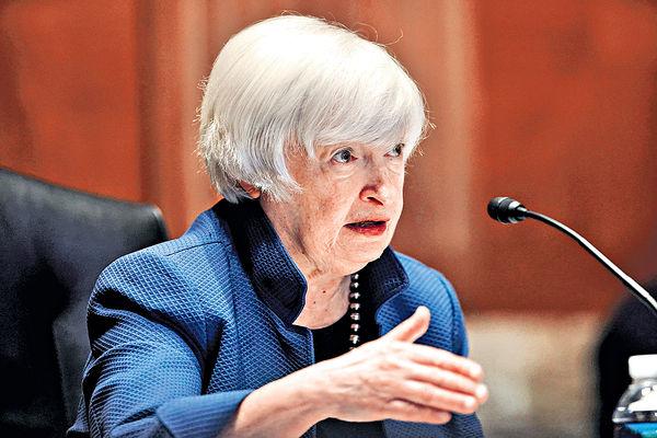 傳耶倫數月內訪華 美財政部否認