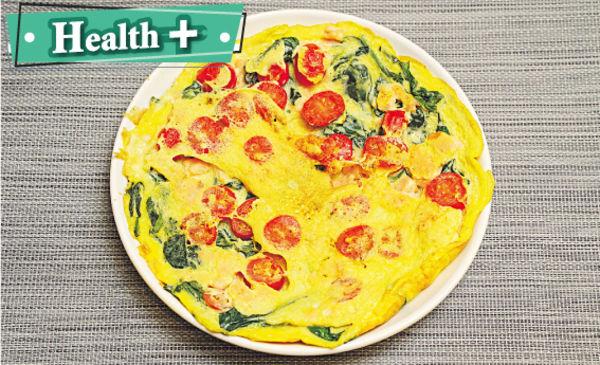 踢走壞膽固醇 地中海式煎蛋餅食出健康心血管