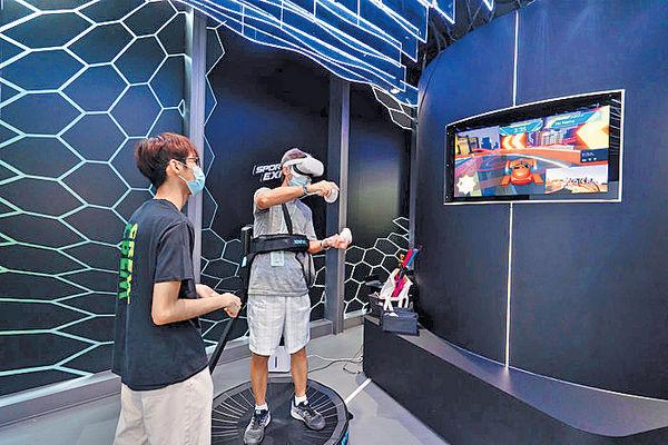 奧運掀學劍熱 SPORTS EXPO研設虛擬劍擊場