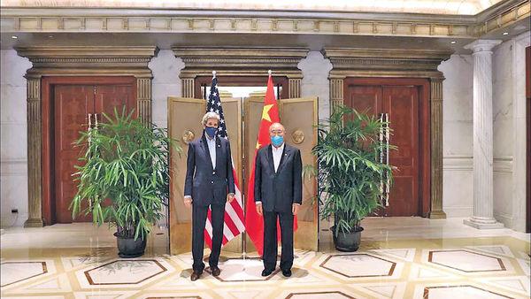克里應邀訪華 中美氣候特使將對話