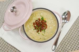 【粟米湯】簡單薯仔粟米濃湯食譜 3步煮好香甜濃滑西式餐湯