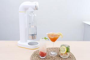 【氣泡水機】自製梳打水!開箱AirSoda氣泡水機 三款夏日梳打特飲食譜/荔枝薄荷/西瓜乳酸/紅茶檸檬梳打