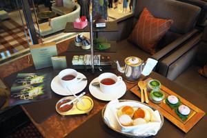 【文華下午茶】香港文華東方酒店聯乘SHISEIDO推出日式下午茶!送美肌修護組合/紫蘇葉紅豆麻糬/打卡鹹點甜品