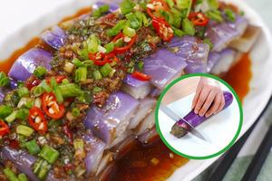 【茄子煮法】茄子不變色做法!茄子外皮保持紫色秘訣 2款茄子食譜/涼拌茄子/日式照燒茄子