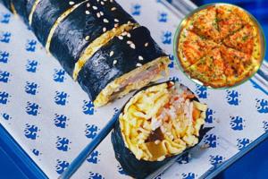 深水埗大南街新開韓國菜餐廳Cafe兼酒吧 雞蛋版紫菜包飯/韓式炸雞/泡菜煎餅