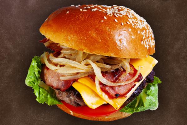 銅鑼灣美式漢堡包店Premium Burger & Sandwich 手工和牛漢堡/足料原隻龍蝦三文治/芝士薯條
