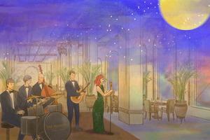 半島酒店大堂茶座中秋節限定 四道菜晚餐配爵士樂表演
