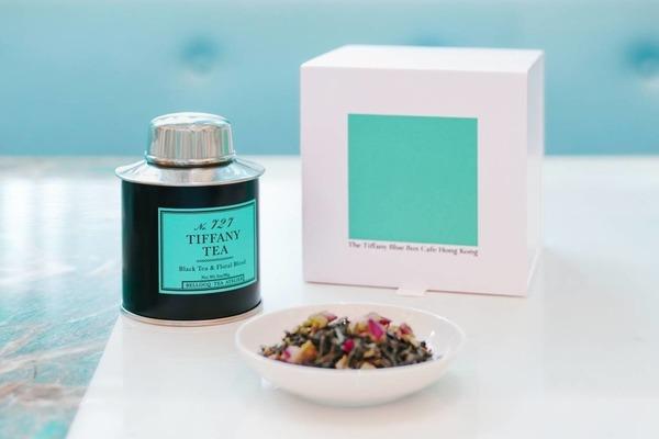 Tiffany & Co.旗下Cafe推出限量版NO.727 TIFFANY茶葉!經典Tiffany blue包裝/香港首度發售
