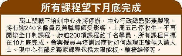 職工盟啟動解散程序 10月3大會表決 勞法諮詢已停運
