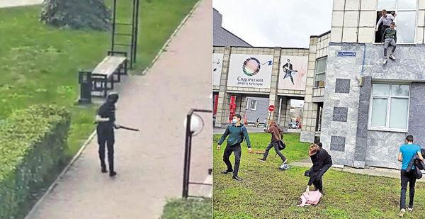 俄槍手血洗大學 8死28傷