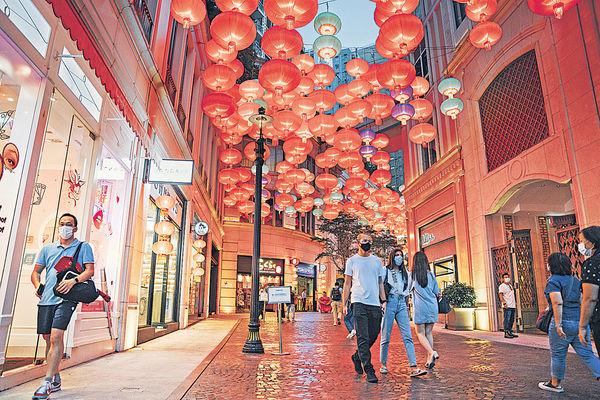 「利東街」中秋呈獻彩燈迎月活動