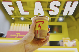 新加坡Flash Coffee香港上環開分店!招牌Nutella鮮奶咖啡/限定奶醬多咖啡