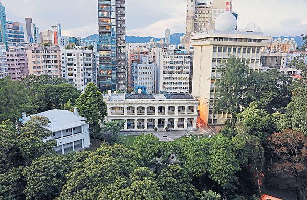 尖咀天文台總部 擬建新副樓 紅屋將成歷史室 施工震動或致輕微沉降