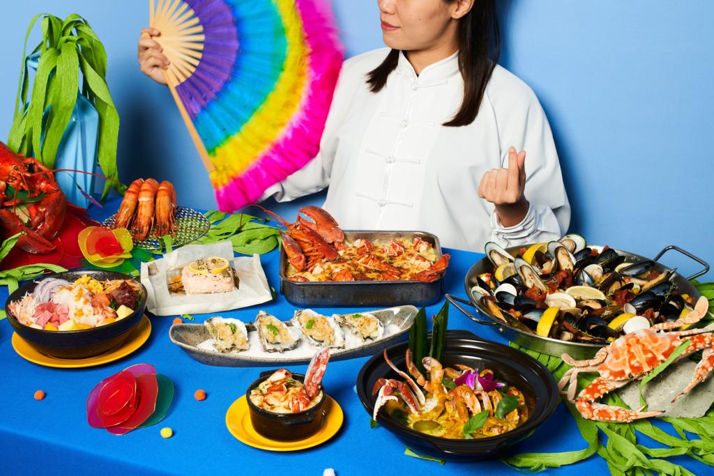【逸東自助餐】逸東酒店普慶餐廳推出全新環球海鮮主題自助餐 $308起歎即開生蠔/波士頓龍蝦/麵包蟹/即切刺身/夏威夷魚生飯/甜品雪糕