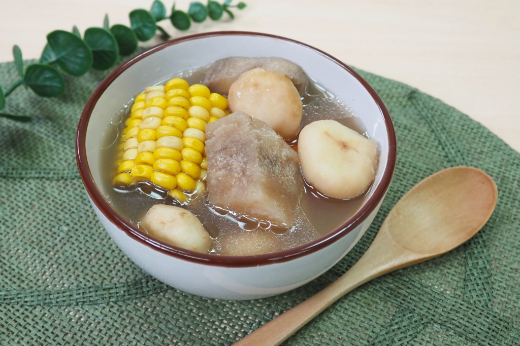 【粉葛湯】舒緩濕疹去濕秋天湯水  粉葛馬蹄豬骨湯
