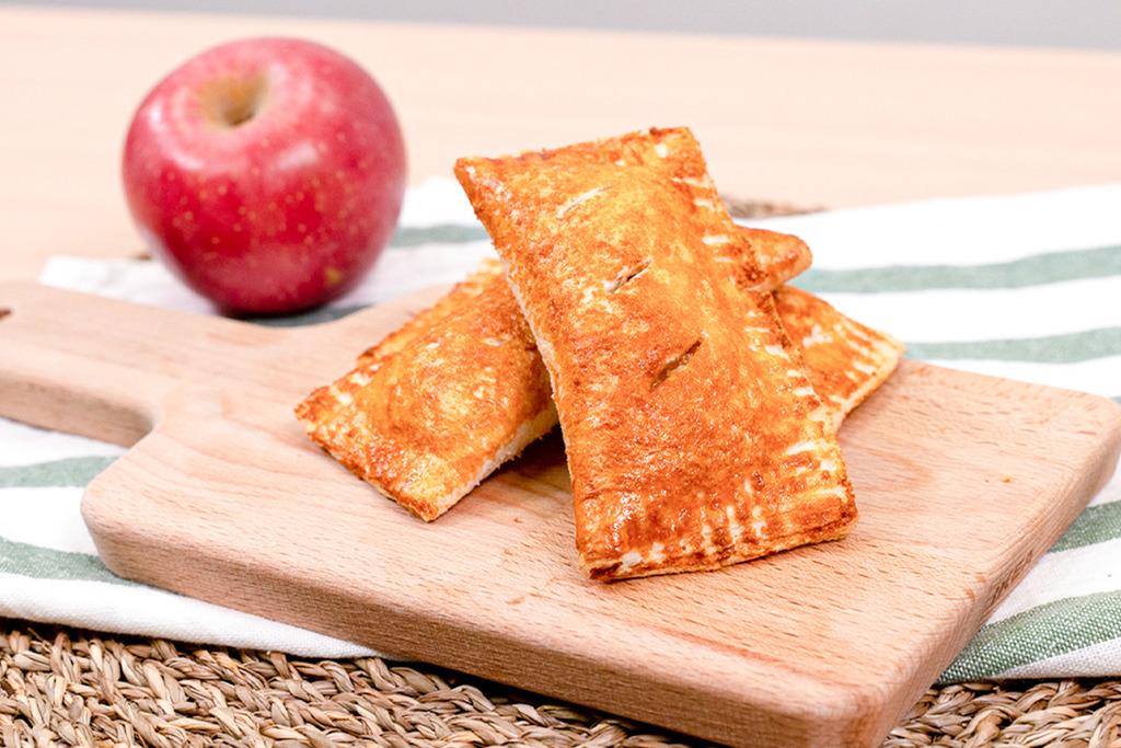 【氣炸鍋食譜】僞麥當勞!氣炸鍋版經典肉桂蘋果批食譜 用麵包就做到簡單又健康