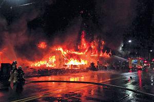 1人涉縱火被捕 市長兩度鞠躬道歉 高雄最嚴重 「城中城」奪命大火46死41傷