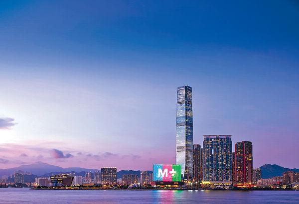 西九M+下月12開幕 大樓幕牆倒數
